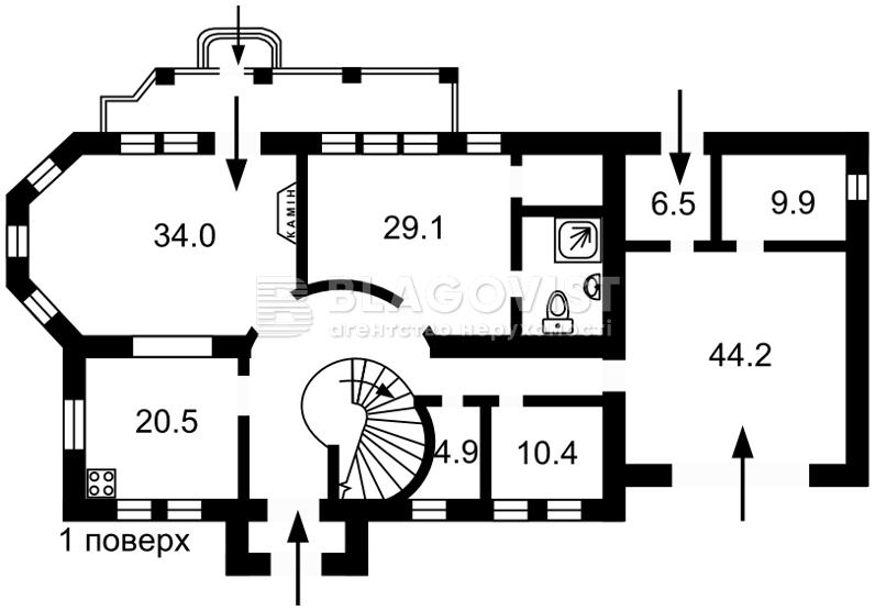 Дом F-38904, Вита-Почтовая - Фото 6