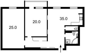 Квартира Академика Палладина просп., 25а, Киев, Z-228140 - Фото2