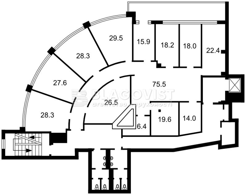 Нежилое помещение, D-32566, Коновальца Евгения (Щорса), Киев - Фото 3