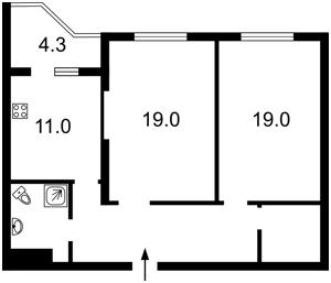 Квартира Сикорского Игоря (Танковая), 4в, Киев, Z-190539 - Фото2