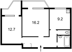 Квартира Григоренко Петра просп., 39в, Киев, Z-186200 - Фото2