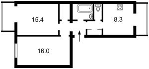 Квартира Z-224996, Крепостной пер., 4, Киев - Фото 2