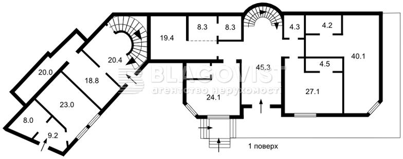 Будинок, F-39122, Олегівська, Київ - Фото 7