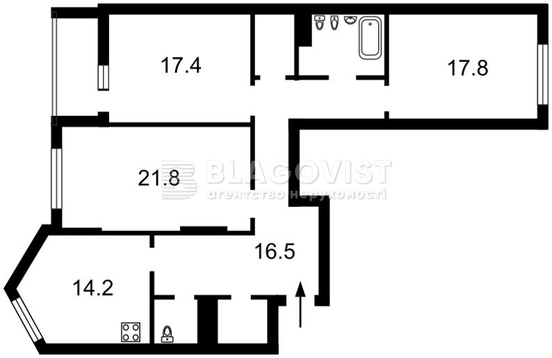 Квартира Z-226154, Вишгородська, 45, Київ - Фото 5
