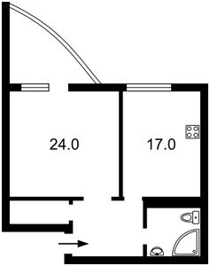 Квартира Кольцова бульв., 14д, Киев, R-13628 - Фото2