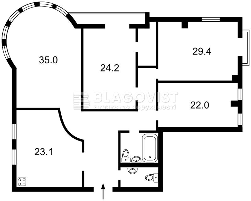 Квартира A-108340, Хорива, 39-41, Киев - Фото 6
