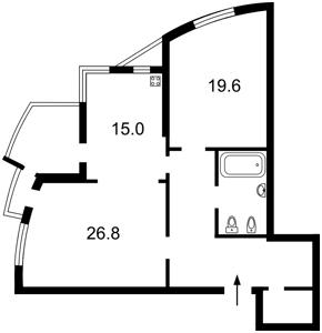 Квартира Лесі Українки бул., 7б, Київ, R-31911 - Фото2