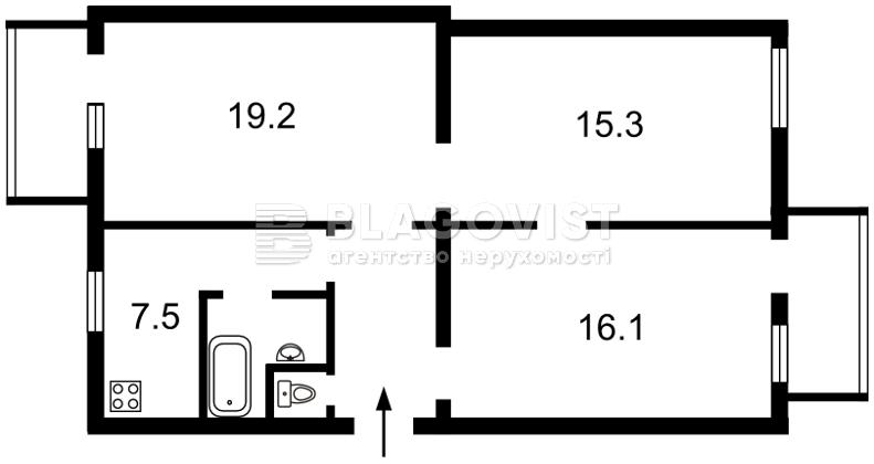 Квартира F-39177, Большая Васильковская, 84, Киев - Фото 2