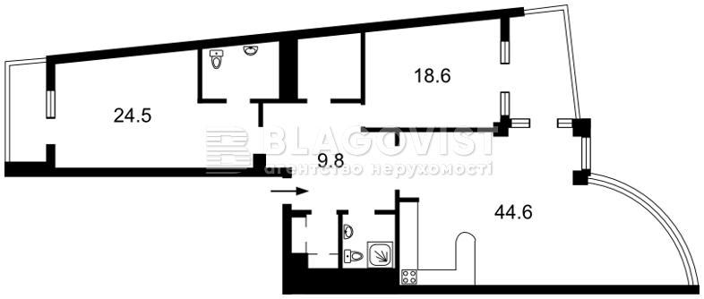 Квартира F-39211, Окипной Раиcы, 18, Киев - Фото 6