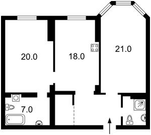 Квартира Полтавская, 10, Киев, Z-160600 - Фото2