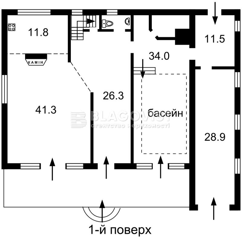 Будинок R-5045, Русанівські сади, Київ - Фото 3