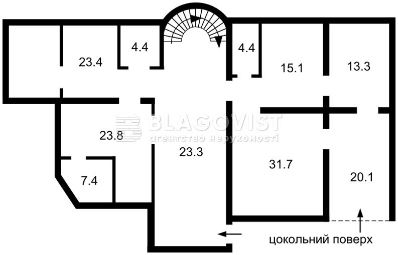 Готель, F-39132, Олегівська, Київ - Фото 6