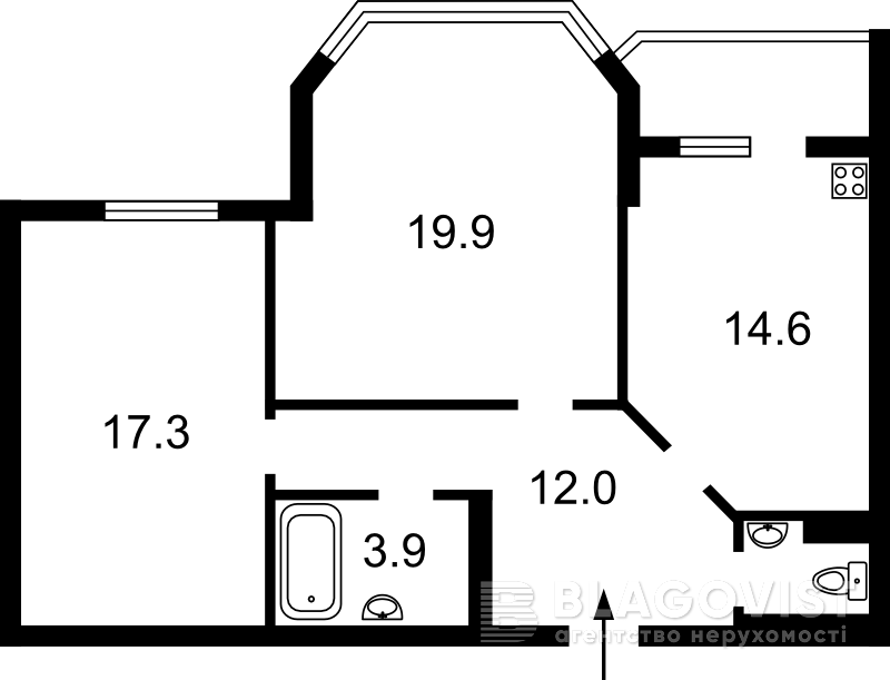 Квартира D-33452, Княжий Затон, 2/30, Киев - Фото 5