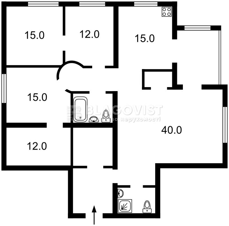 Квартира R-12043, Братьев Зеровых (Краснопартизанская), 14б, Киев - Фото 4