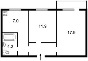 Квартира Правды просп., 6, Киев, Z-1656319 - Фото2