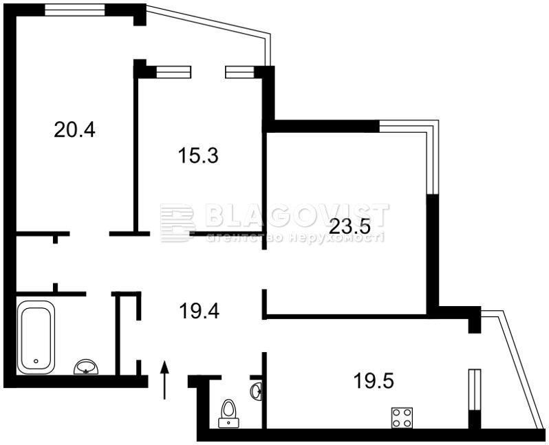 Квартира R-13781, Ирпенская, 69а, Киев - Фото 4