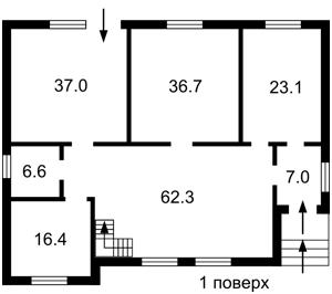 Будинок Бортницький 1-й пров., Київ, C-104549 - Фото2