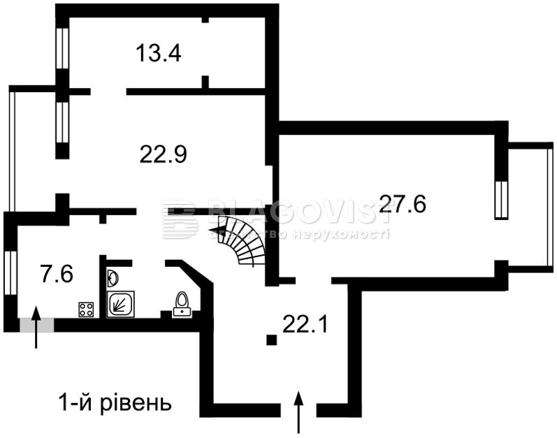 Офис, H-40702, Музейный пер., Киев - Фото 4