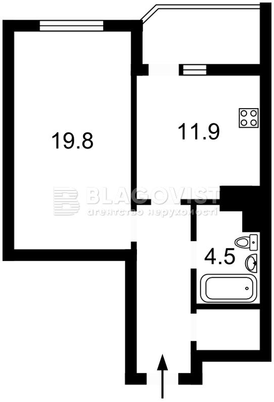 Квартира Z-195275, Булгакова, 13, Киев - Фото 3