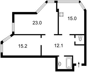 Квартира Z-870201, Гетьмана Вадима (Индустриальная), 1в, Киев - Фото 5