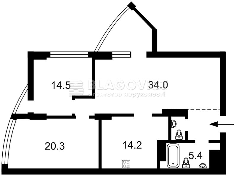 Квартира D-33499, Глубочицкая, 32б, Киев - Фото 8