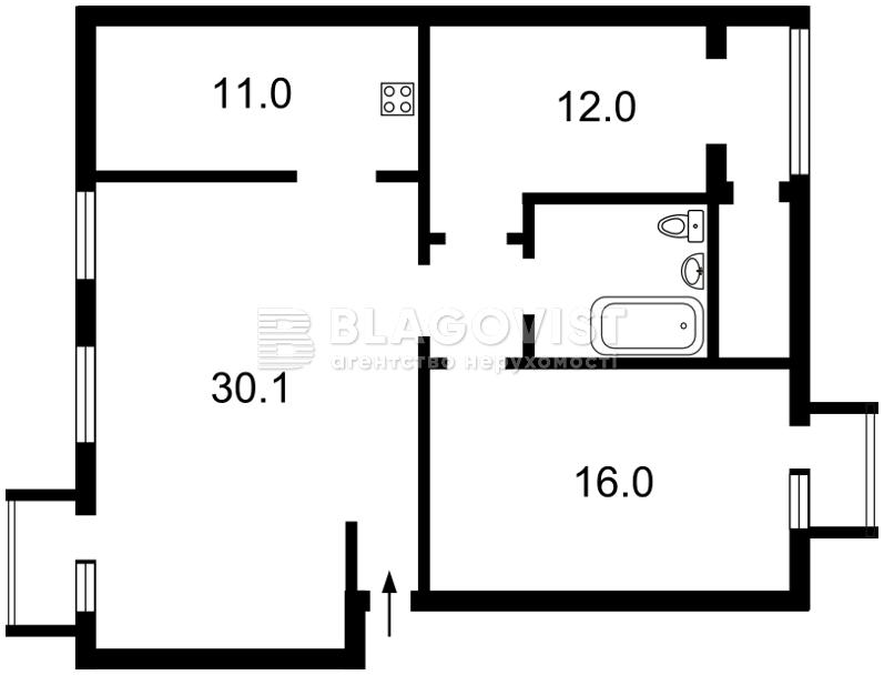 Квартира Z-1202632, Ярославов Вал, 28/31, Киев - Фото 2