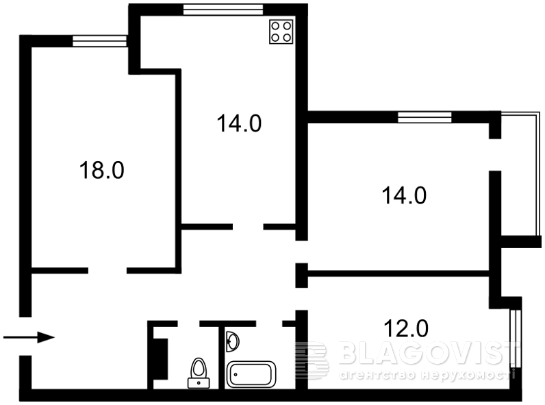 Квартира R-14473, Зверинецкая, 61а, Киев - Фото 2