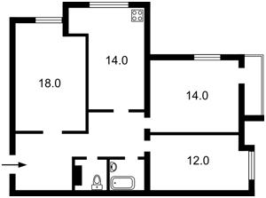 Квартира Звіринецька, 61а, Київ, R-14473 - Фото2