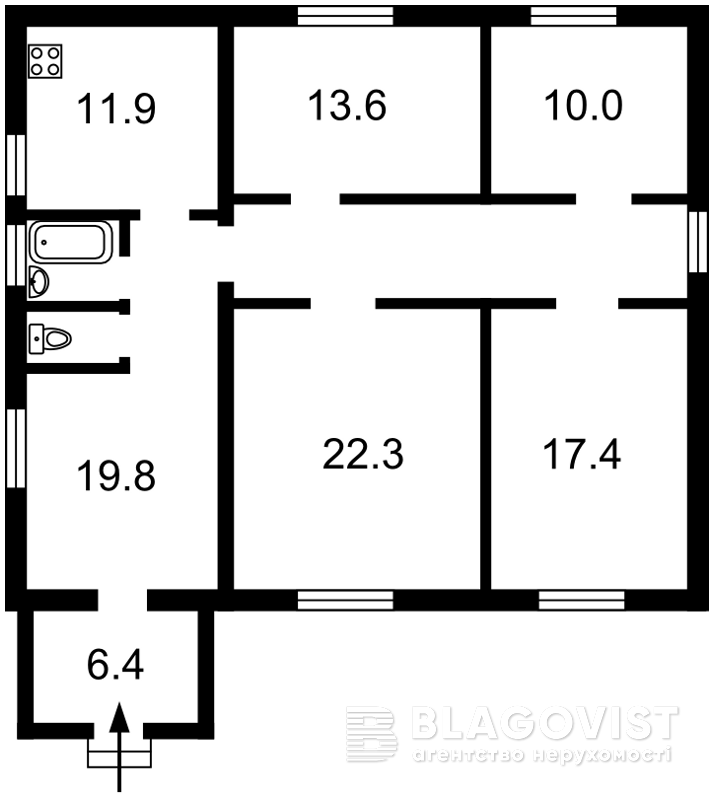 Дом Z-6327, Крюковщина - Фото 2