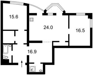 Квартира Львовская, 22а, Киев, Z-218838 - Фото2