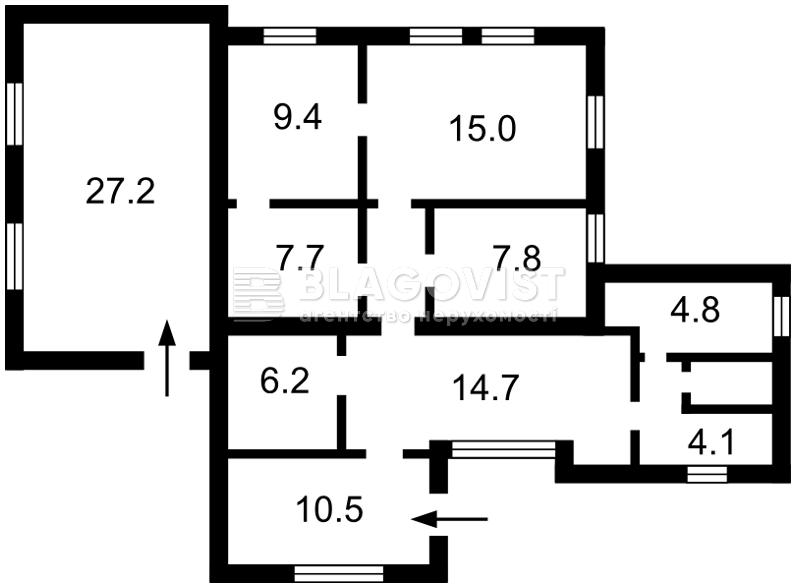 Дом F-39358, Водопроводная, Буча (город) - Фото 4