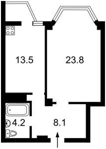 Квартира Ломоносова, 73а, Киев, B-82831 - Фото2