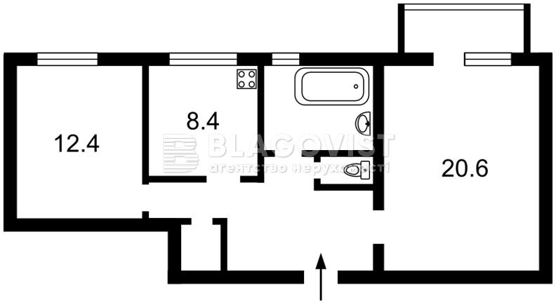 Квартира Z-1115143, Леси Украинки бульв., 28а, Киев - Фото 5