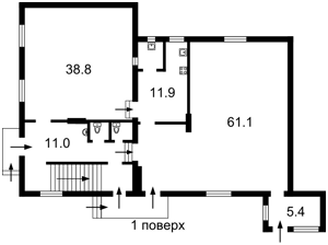 Дом Туполева Академика, Киев, R-5774 - Фото 2