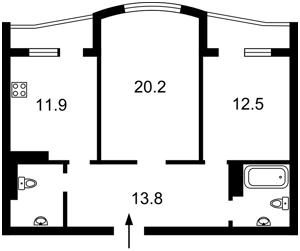 Квартира Леваневского, 6, Киев, F-39415 - Фото2