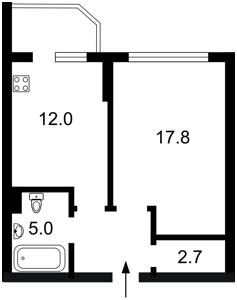 Квартира Бажана Николая просп., 8б, Киев, Z-241987 - Фото2