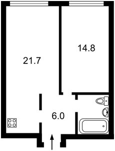Квартира Липкивского Василия (Урицкого), 16а, Киев, C-104702 - Фото2
