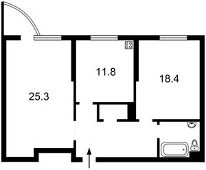 Квартира Ломоносова, 58, Киев, Z-266702 - Фото2