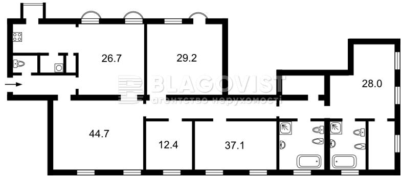 Квартира C-104760, Банковая, 1/10, Киев - Фото 4