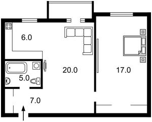 Квартира Шелковичная, 38, Киев, C-104756 - Фото 2