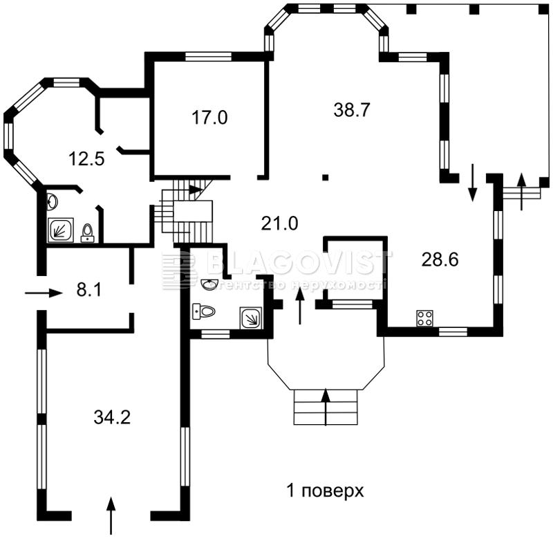 Дом F-39478, Осещина - Фото 2