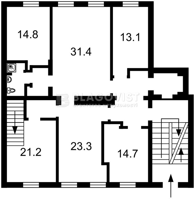 Нежилое помещение, Z-208201, Прорезная (Центр), Киев - Фото 2