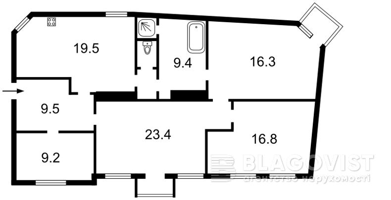 Квартира Z-151991, Ярославов Вал, 14д, Киев - Фото 2