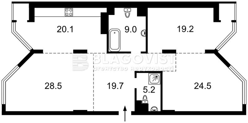 Квартира H-41439, Болсуновская (Струтинского Сергея), 2, Киев - Фото 9