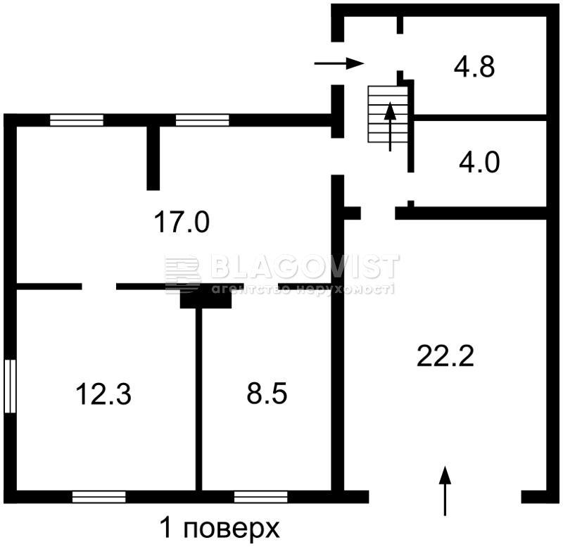 Дом D-33633, Молодежная, Любимовка (Киево-Святошинский) - Фото 3
