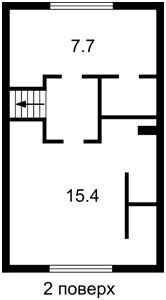Будинок Молодіжна, Любимівка (Києво-Святошинський), D-33633 - Фото 3