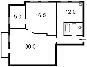 Квартира Велика Васильківська, 108, Київ, G-5686 - Фото 2