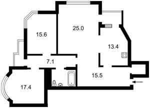 Квартира Бажана Николая просп., 1м, Киев, Z-996345 - Фото2