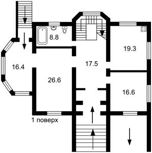 Будинок Вишнева, Нові Петрівці, R-15559 - Фото 3