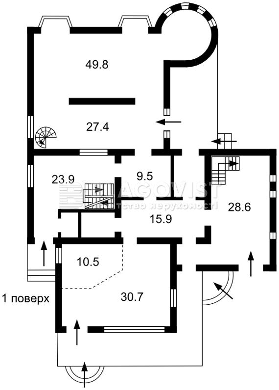 Дом P-23446, Лесная, Княжичи (Броварской) - Фото 5